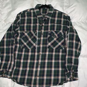 Olive Flannel